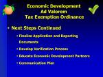 economic development ad valorem tax exemption ordinance2