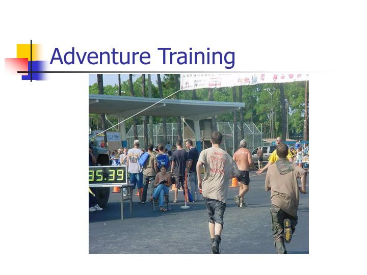 Adventure Training