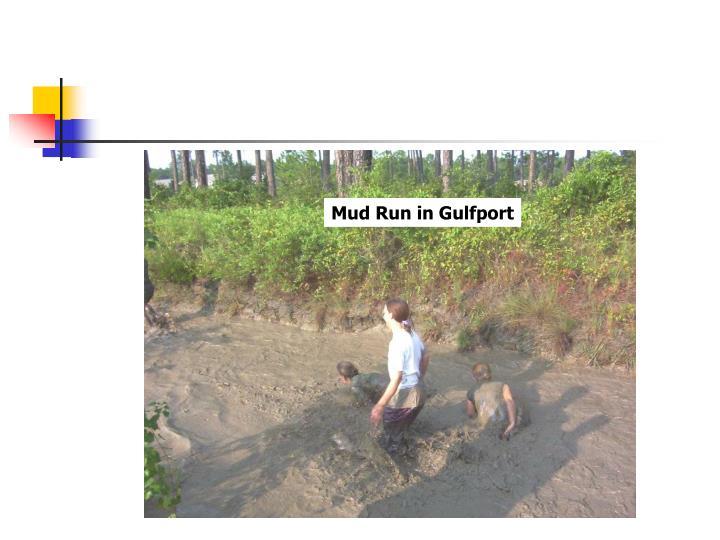 Mud Run in Gulfport