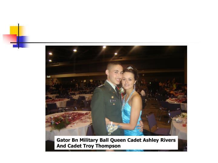 Gator Bn Military Ball Queen Cadet Ashley Rivers