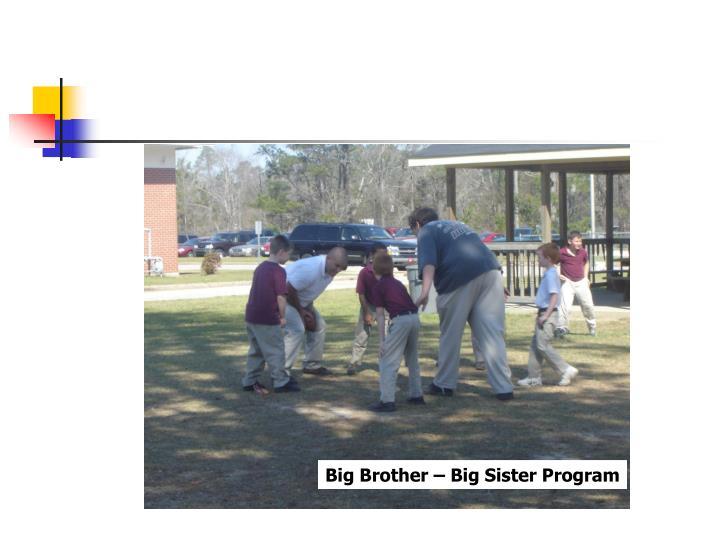 Big Brother – Big Sister Program