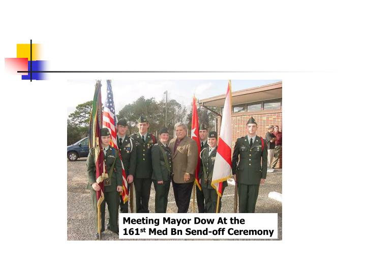 Meeting Mayor Dow At the