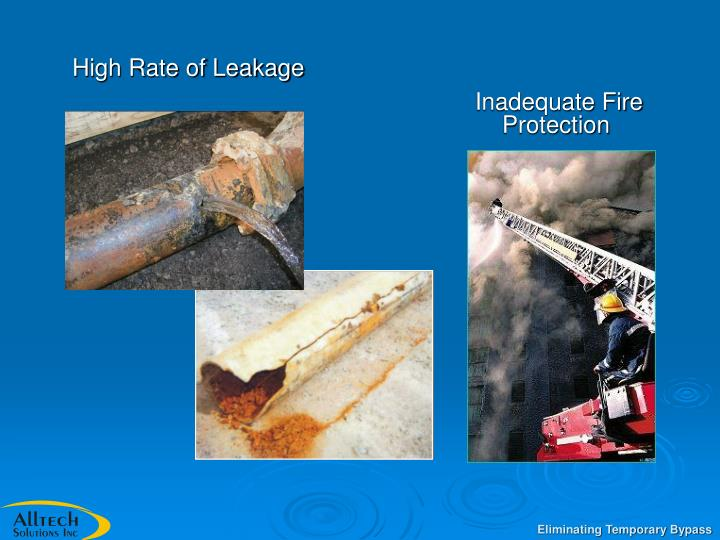High Rate of Leakage