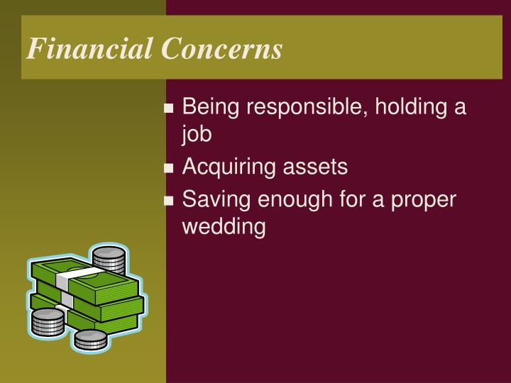 Financial Concerns