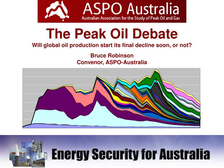 The Peak Oil Debate