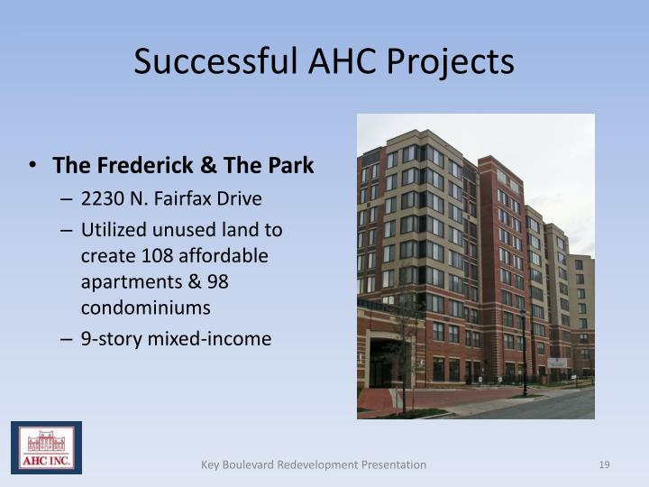 Successful AHC Projects