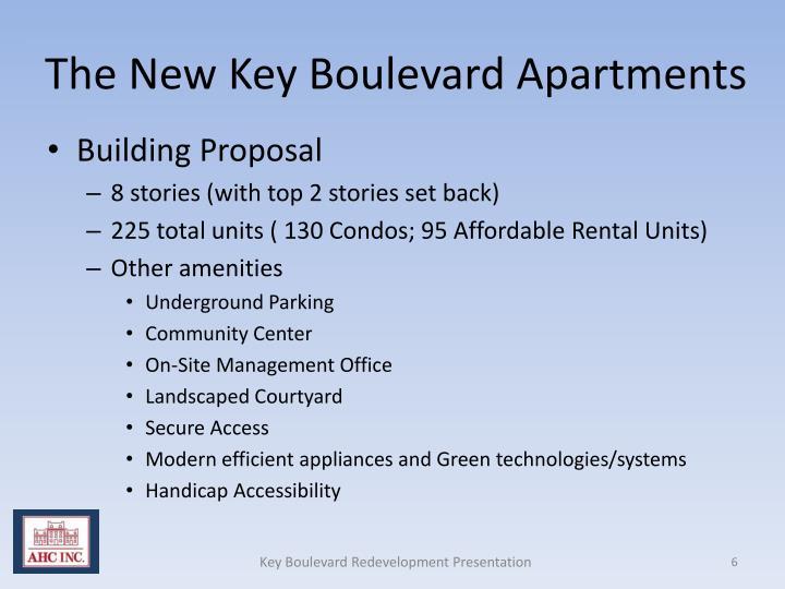 The New Key Boulevard Apartments