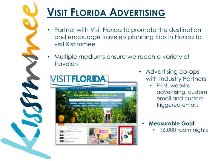 Visit Florida Advertising