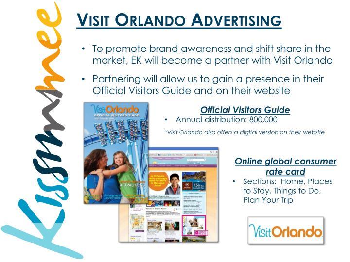 Visit Orlando Advertising