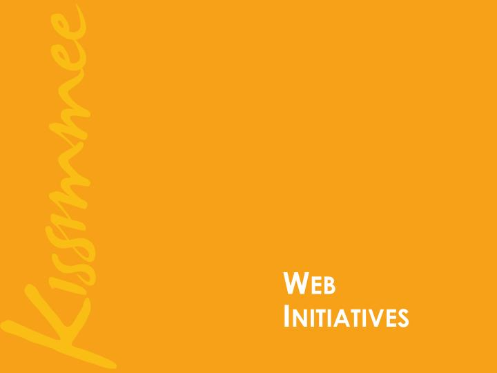 Web  Initiatives