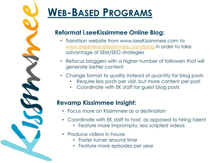 Web-Based Programs
