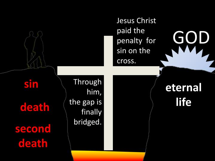 Jesus Christ paid the penalty  for sin on the cross.