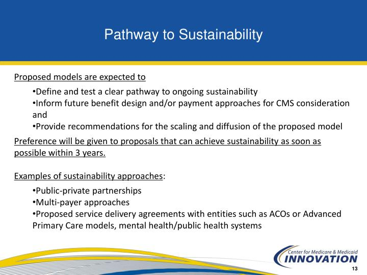 Pathway to Sustainability