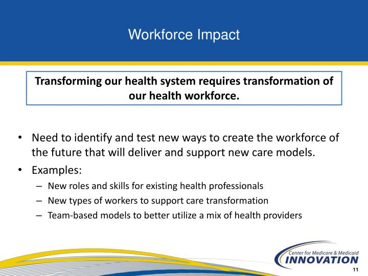 Workforce Impact