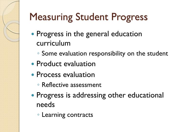 Measuring Student Progress