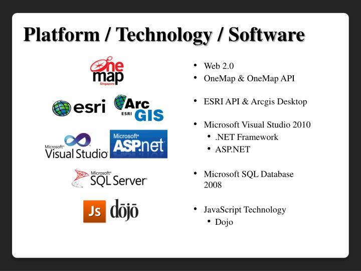 Platform / Technology / Software