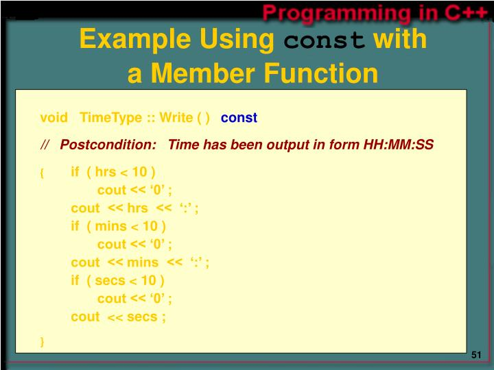 Example Using