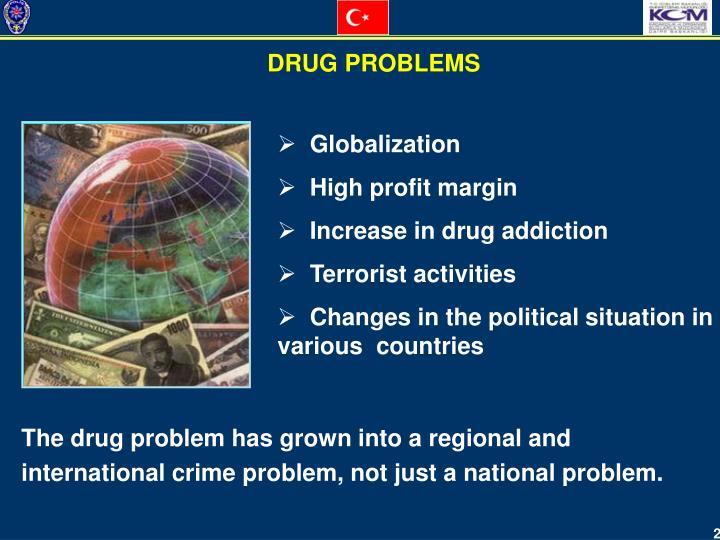 DRUG PROBLEMS