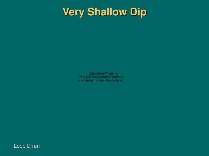 Very Shallow Dip
