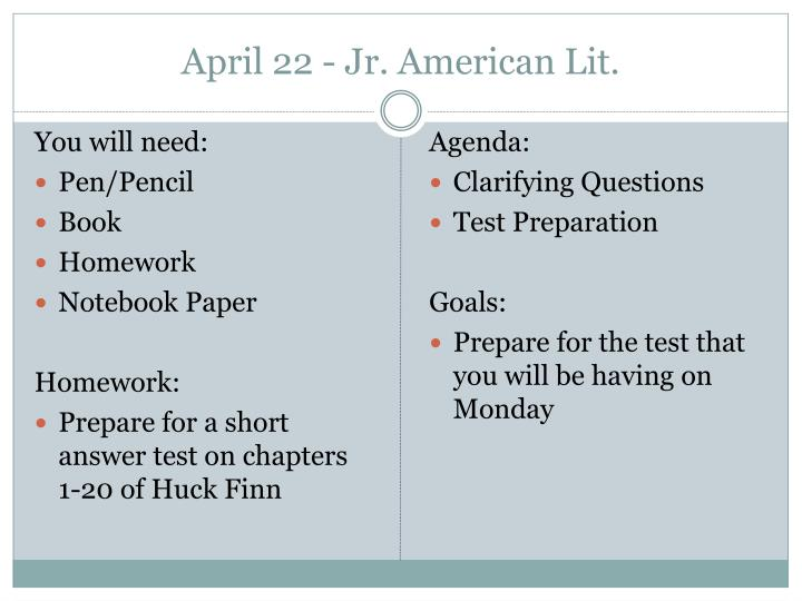 april 22 jr american lit