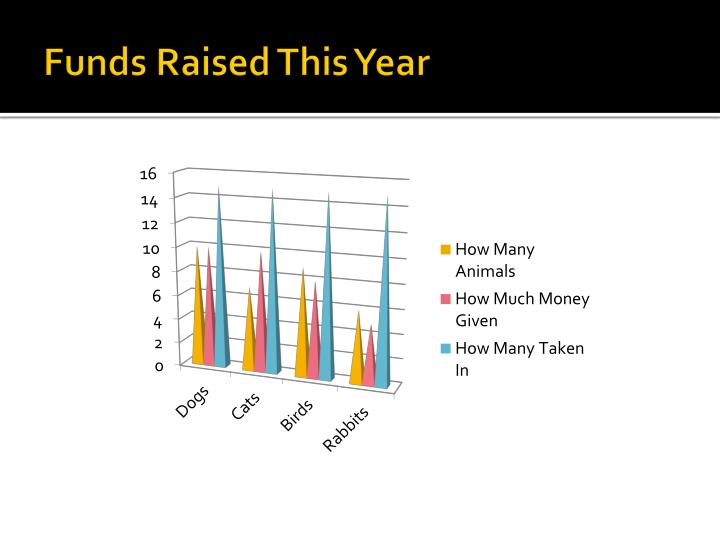 Funds Raised This Year