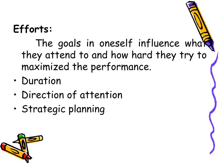 Efforts:
