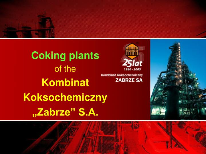 Coking plants
