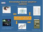 knowledge based adaptive systems