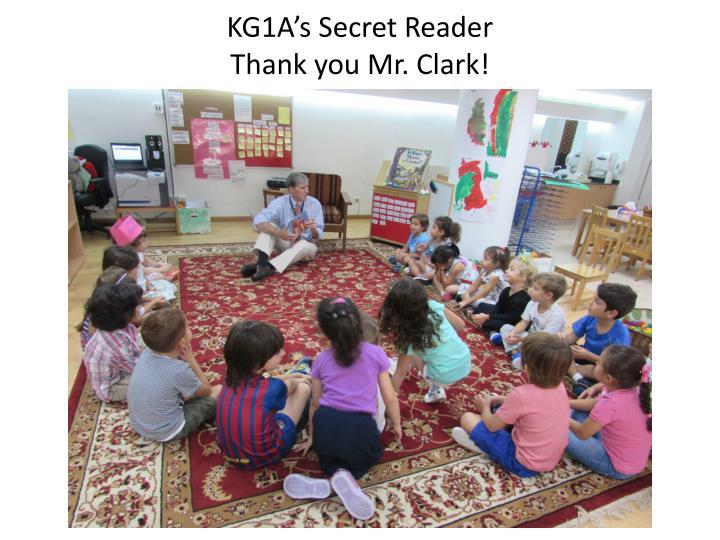 KG1A's Secret Reader