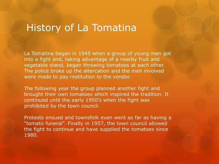 History of La