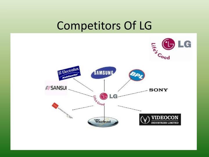 Competitors OfLG