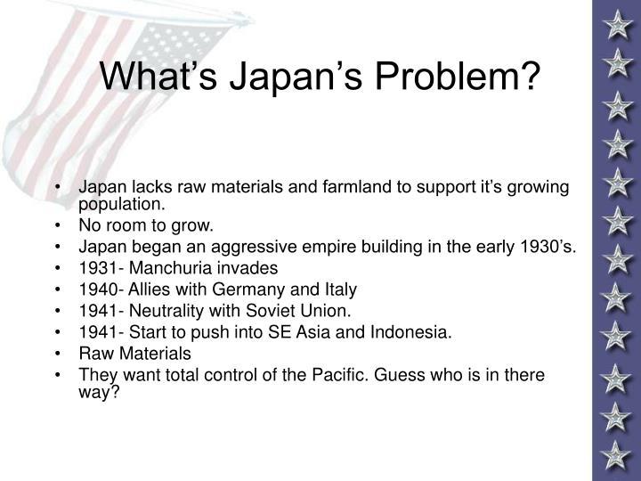 What's Japan's Problem?