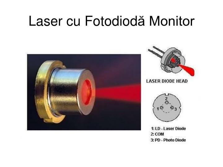 Laser cu Fotodiod