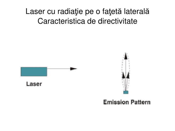 Laser cu radia