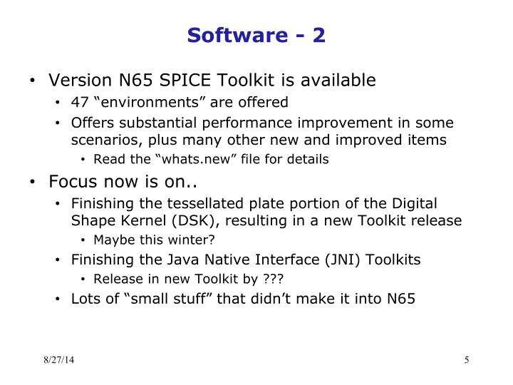 Software - 2