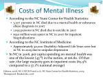 costs of mental illness1