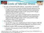 costs of mental illness2