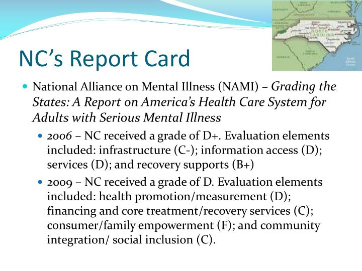 NC's Report Card