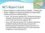 nc s report card