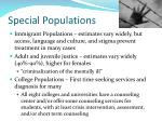 special populations1