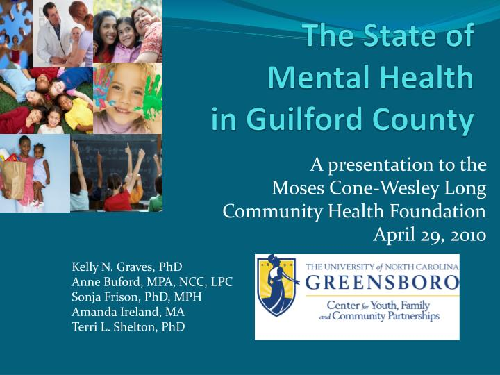 The state of mental health in guilford county