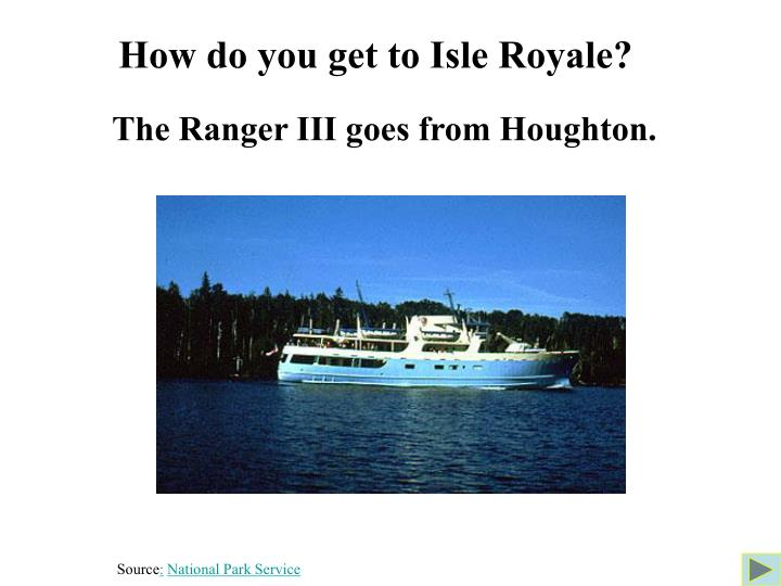 How do you get to Isle Royale?