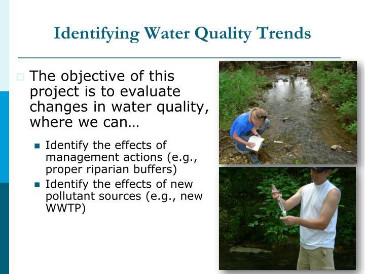 Identifying Water