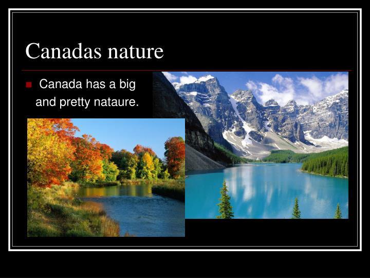 Canadas nature