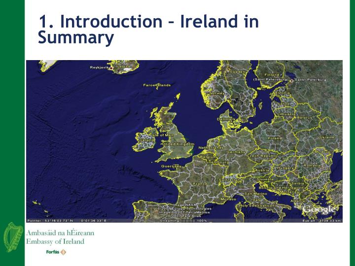 1 introduction ireland in summary