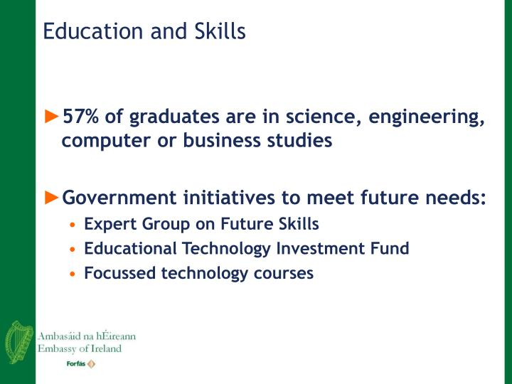 Education and Skills