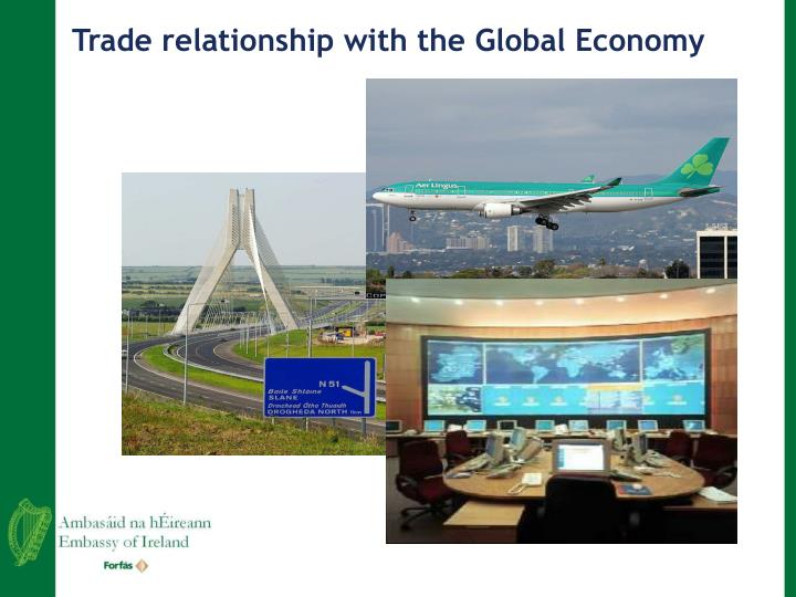 Trade relationship with the Global Economy