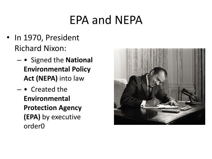 EPA and NEPA