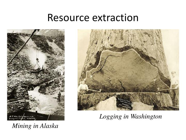 Resource extraction