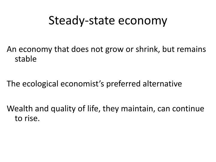 Steady-state economy
